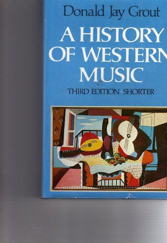 9780393951424: A history of western music