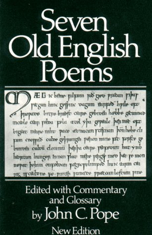 9780393951745: Seven Old English Poems