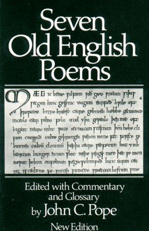 9780393951745: Seven Old English Poems (Norton Paperback)