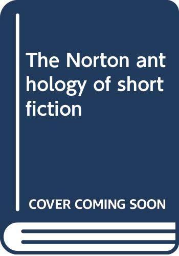 9780393951820: The Norton anthology of short fiction