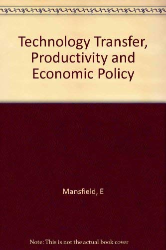 9780393952223: Technology Transfer, Productivity, and Economic Policy