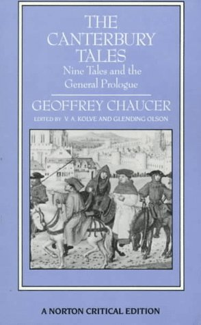 9780393952452: The Canterbury Tales: Nine Tales and the General Prologue (Norton Critical Editions)