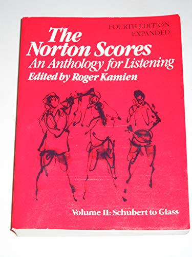 Kamien:Norton Scores an Anthology for Listening 4ed Expanded Etc (Paper Only) (The Norton Scores)