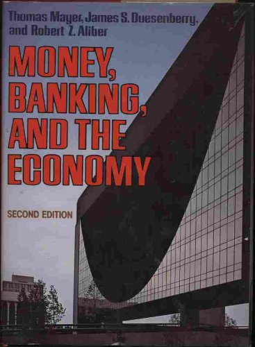 9780393953138: Money, Banking, and the Economy
