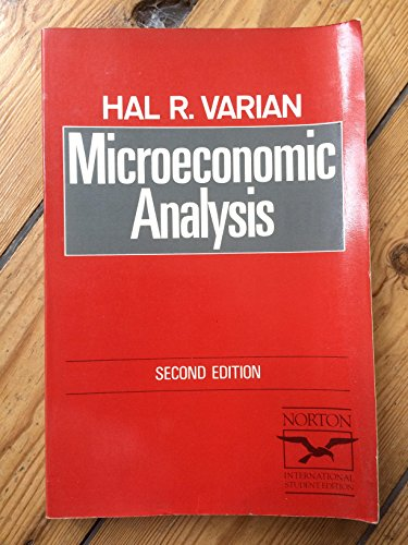 9780393953435: Microeconomic Analysis