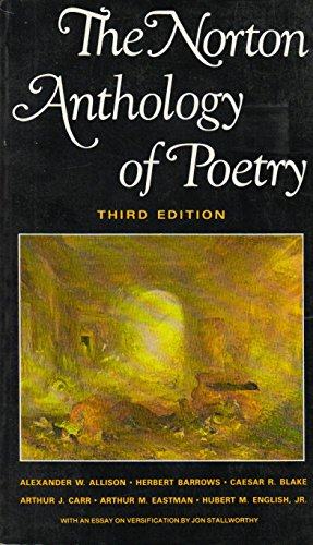 9780393953718: The Norton Anthology of Poetry