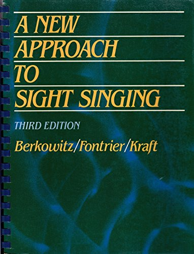 9780393954654: A New Approach to Sight Singing