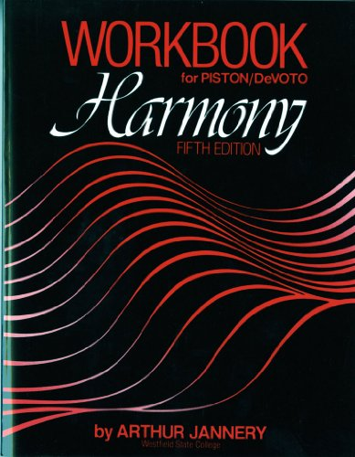 9780393954845: Workbook: for Harmony, Fifth Edition