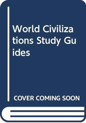 9780393955002: World Civilizations Study Guides