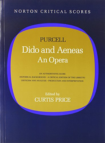 9780393955286: Dido and Aeneas: An Opera (Norton Critical Scores)