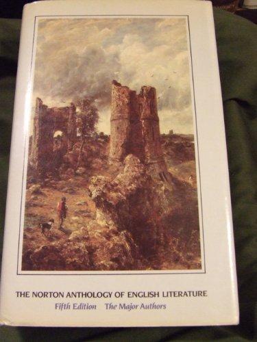 9780393955620: Norton Anthology of English Literature: Major Authors
