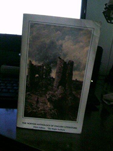 9780393955637: Norton Anthology of English Literature: Major Authors