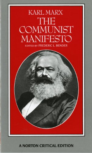 the communist manifesto by karl marx The communist manifesto by karl marx and friedrich engels transcribed by allen lutins with assistance from jim tarzia manifesto of the communist party.