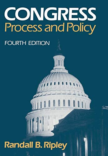 9780393956177: Congress: Process and Policy