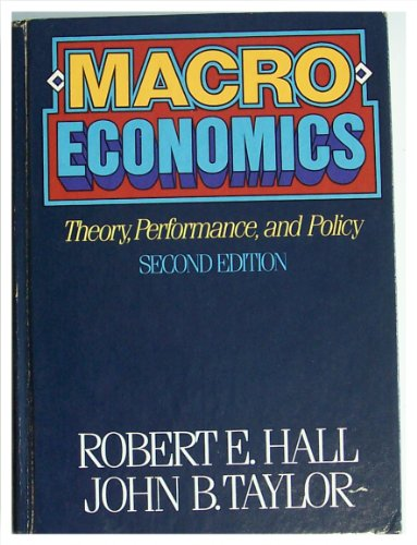 9780393956306: Macro-Economics: Theory Performance and Policy