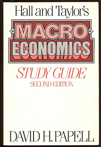 9780393956320: Hall and Taylor's Macroeconomics: Study Guide