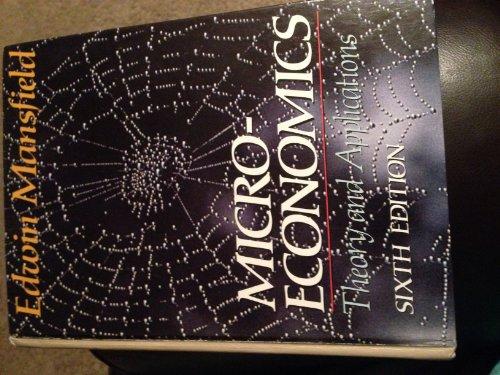 9780393956351: Microeconomics: Theory, Applications