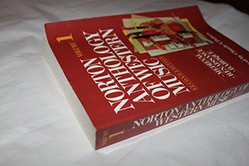 9780393956429: The Norton Anthology of Western Music: Mediaeval, Renaissance, Baroque v. 1
