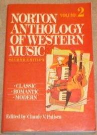 9780393956443: Norton Anthology of Western Music Volume 2