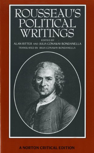 Rousseau's Political Writings: Discourse on Inequality, Discourse: Jean Jacques Rousseau