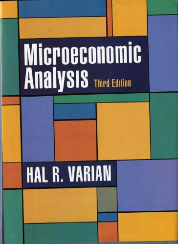9780393957358: Microeconomic Analysis, Third Edition