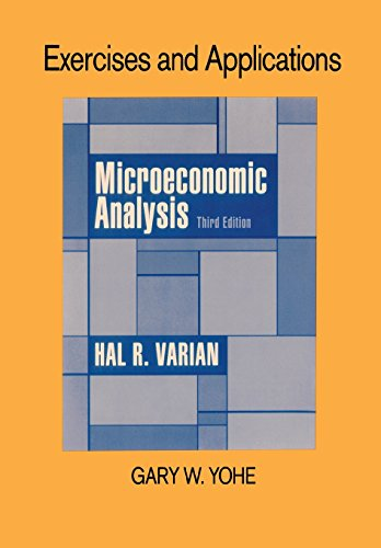 9780393957372: Exercises and Applications for Microeconomic Analysis