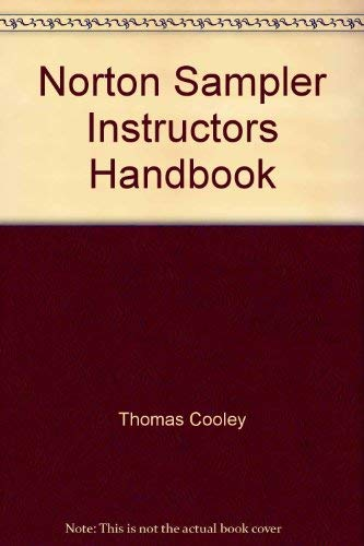 9780393957419: Norton Sampler Instructors Handbook