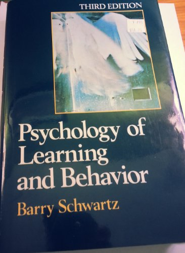 9780393957518: Psychology of Learning and Behavior