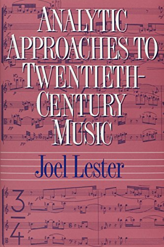 9780393957624: Analytic Approaches to Twentieth-Century Music