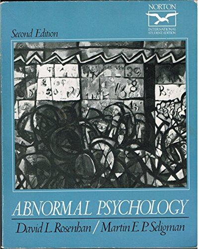 9780393958263: Abnormal Psychology