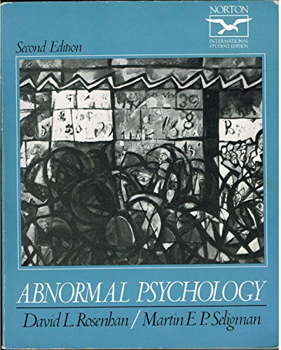 9780393958263: Abnormal Psychology
