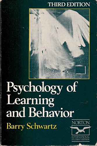 9780393958270: Psychology of Learning and Behaviour