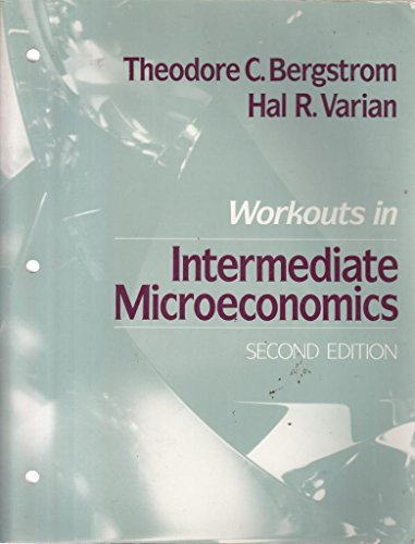 9780393959260: Workouts in Intermediate Microeconomics