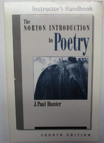 9780393959420: Norton Introduction to Poetry: Classroom Guide