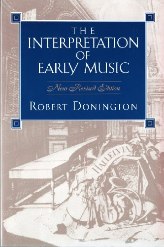 9780393960037: The Interpretation of Early Music