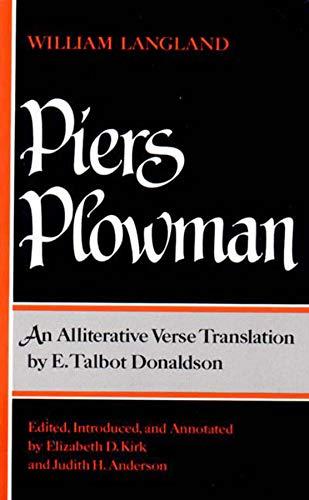 Piers Plowman : An Alliterative Verse Translation: William Langland; Judith