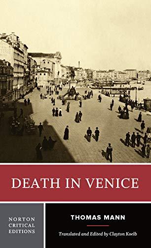 9780393960136: Death in Venice (A Norton Critical Edition)