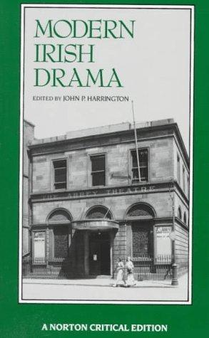 9780393960631: Modern Irish Drama (Norton Critical Editions)