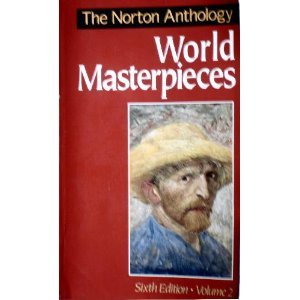 9780393961430: Norton Anthology of World Masterpieces, Vol. 2