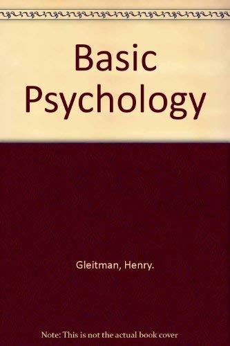 9780393962420: Basic Psychology