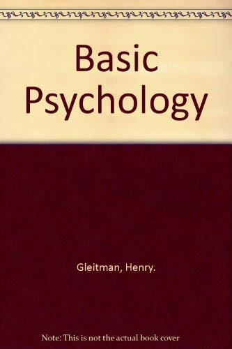 9780393962420: Basic Psychology
