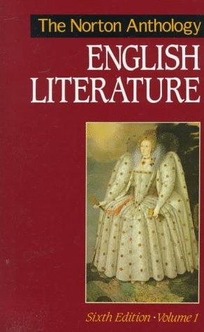 9780393962871: The Norton Anthology of English Literature: v. 1