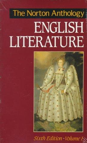 9780393962888: The Norton Anthology of English Literature: v. 1