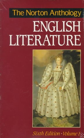 9780393962888: The Norton Anthology of English Literature, Vol. 1