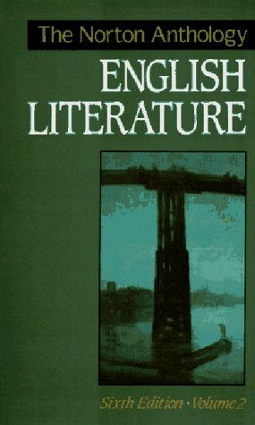 9780393962895: The Norton Anthology of English Literature, Vol. 2