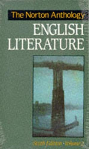 9780393962901: The Norton Anthology of English Literature, Vol. 2
