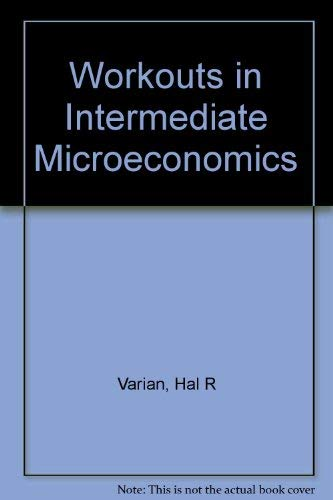 9780393963212: Workouts in Intermediate Microeconomics