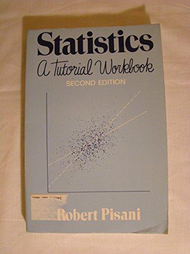 9780393963694: Statistics: A Tutorial Workbook