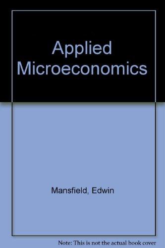9780393964318: Applied Microeconomics