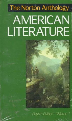 9780393964615: The Norton Anthology of American Literature: 001